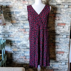 CHERRY DRESS WITH POCKETS